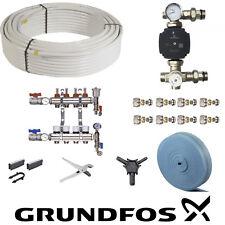 Underfloor Heating Kit Multi Room Kits Fast Warmup Floor Pipe 20 to 200m² water