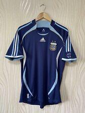 ARGENTINA 2006 2008 AWAY FOOTBALL SHIRT SOCCER JERSEY ADIDAS 069519