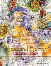 Beautiful Horror Adult Coloring Book Halloween, Witches, Vampires, Sugar Skulls