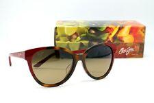 Maui Jim SUNSHINE HS725-66 Red & Tortoise Sunglasses Polarized HCL Bronze Lens