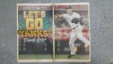 DEREK JETER -  NEW YORK DAILY NEWS FULL PAGE POSTER! AROD