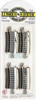 "Bachmann HO Scale E-Z Track System 1/3 18"" Radius Curved Track (4 pieces) #44530"