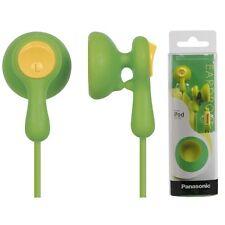Panasonic RP-HV41-G EarDrops Earphones Comfort-fit Headphones RPHV41 Green