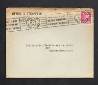 "PARIS (IX°) TEXTILLES ""VIEVARD & STEMPOWSKI"" en 1955"