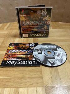 Crisisbeat Playstation 1 PS1 Spiel in OVP mit Anleitung