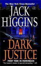 Dark Justice by Jack Higgins (Sean Dillon #12) (2005, Paperback) GG782