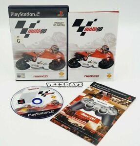MOTO GP PlayStation 2 Game motogp ps2 - Complete Manual & Mint Disc - PAL