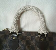NEW Handle Cover Crochet  Louis Vuitton LV SPEEDY 25 3035 ALMA GORGEOUS Light
