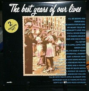 THE BEST YEARS OF OUR LIVES Double Album Released 1977 /Vinyl Collection USA