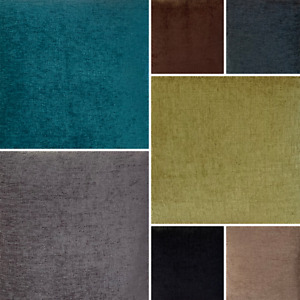 Elite Chenille Upholstery Fabric Shimmering Cushion Throw Craft Decor FR BS7177