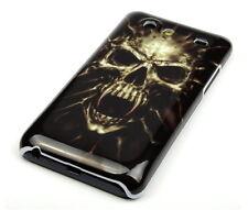 Hülle f Samsung Galaxy S Advance i9070 Schutzhülle Tasche Case Totenkopf Skull