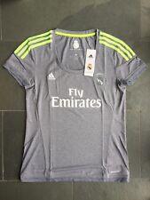 Nuevo Y En Caja Damas Para mujeres Camiseta Jersey Real Madrid lejos de fútbol 2015/16 M 12-14