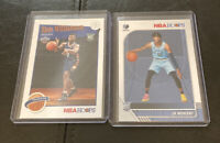 2019-20 Ja Morant Base Zion Williamson NBA Hoops Tribute Rookie Card RC Lot