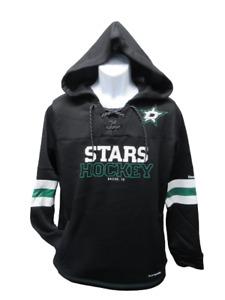 New Dallas Stars Womens Size L Large Playwarm Black Hoodie $65