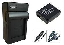 Akku + Ladegerät für Panasonic Lumix DMC-TZ81 / DMC-TZ101 - DMW-BLG10-E