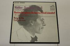 Mahler: Symphony No. 6 (First Recording of Critical Edition) RCA Victor 2 LPs