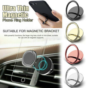 360° Rotation Magnetic Finger Ring Stand Holder For Samsung iPhone Mobile Phone