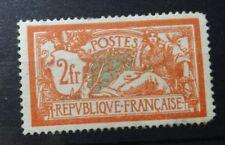 S044. France Type Merson n° 145 neuf* regommé