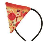 Novelty Adult Kids Pizza Food Headband Fancy Dress Festival Hair Accessories
