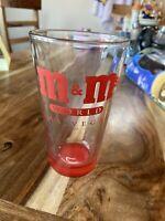 M & M's World Las Vegas Glass
