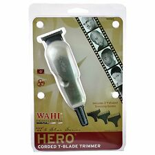 Wahl Professional 5 Star Hero Corded T-Blade Hair Trimmer 8991, Ergonomic design