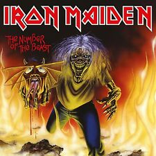 "IRON MAIDEN - NUMBER OF THE BEAST: LIMITED 7"" VINYL SINGLE (October 13th, 2014)"