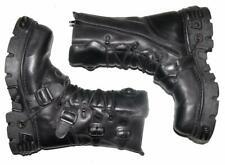 """schwere """" NEW ROCK REACTOR """" Schnür- Stiefel / Boots in schwarz Gr. 41"""