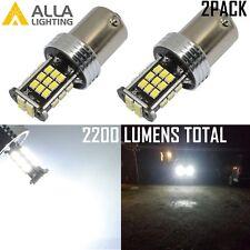 Alla Lighting 6000K 30-LED 1157 Turn Signal,Parking,Brake,Tail Light Bulb White