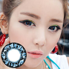 Lentilles de Contact Bleu Color Contact Circle Lenses Dia14,8mm XDiaBl