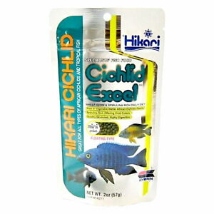 Hikari Cichlid Excel Mini Floating Pellets 57g Aquarium Fish Food