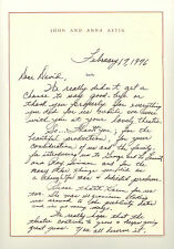 PATTY DUKE ASTIN 1976 HAND WRITTEN LETTER PERSONAL STATIONARY SIGNED ANNA (448)