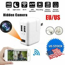 US Full HD 1080P Hidden Camera Plug Wall Charger Adapter Video Recorder Cam