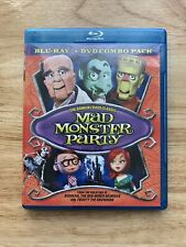 Mad Monster Party - 1967 (Blu-ray, DVD, 2012, 2-Disc) Stop-Motion Animation