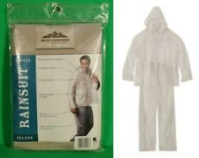 NORTHWEST TERRITORY L / XL DELUXE 3 Piece RAINSUIT Clear Rain Suit Gear NEW