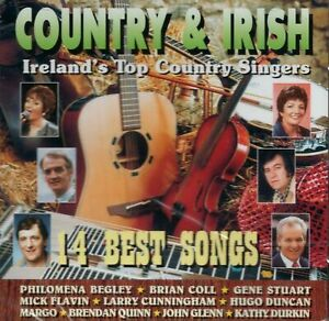Country & Irish - Ireland's Top Country Singers (Various Artists) CD