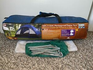 Ozark Trail 13' x 10' Pentagonal Dome Tent Sleeps 6 WT23018R-2 Used