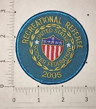 Recreational Referee 2005 Patch  - Vintage- United States Soccer Federation