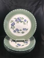 Set of 4 Tabletops Unlimited OLIVE GARDEN Dinner Plates A