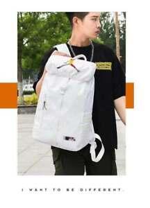 Jordan Unisex School Backpack Travel Bags Nylon Shoulders Bag Zip Satchel 20-30L