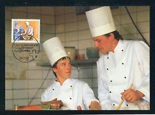 SCHWEIZ Nr.1463 EST BERN 24.1.1992 MAXIMUMKARTEN 2.80FR. KOCH !!! (143655)