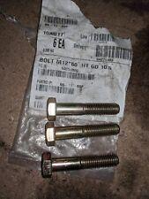 3 X TORO M12 X 60 BOLTS 66-11-002