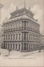 1906 Rochester New York Savings Bank Building Monroe County NY Vintage PC Rare