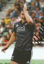 MAORI ALL BLACKS & LEINSTER RUGBY UNION: JAMES LOWE SIGNED 6x4 ACTION PHOTO+COA