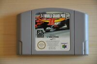 N64 - F1 World Grand Prix 2 für Nintendo 64
