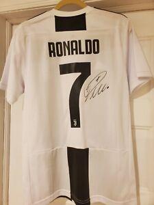 Cristiano Ronaldo Signed Auto Jersey Juventus Manchester