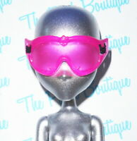 MONSTER HIGH ART CLASS ABBEY BOMINABLE DOLL REPLACEMENT PINK SKI MASK GOGGLES