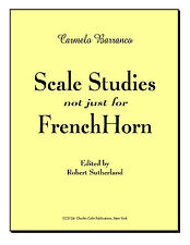 Barranco ~ Scale Studies (not just) for French Horn - CharlesColin Publications