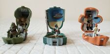 Galoob Star Wars Micro Machine Head Playsets Boba Fett Ackbar Gamorrean