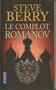 Steve BERRY Le Complot Romanov  Comme Neuf