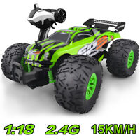 1:18 RC Cars 2.4G Racing  Remote Control Truck Vehicle RTR Off Road Buggy